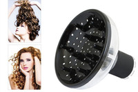 Wholesale voltage hair - Universal Blower Hairdressing Salon Curly Hair Dryer Diffuser Wind Shield FATE hair dryers accessory diffuser cap hair product
