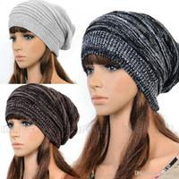 Wholesale fashionable winter hats men - KOREAN VERSION OF POPULAR FOLDING CAP WINTER HAT FASHIONABLE MEN AND WOMEN KNITTING WOOL CAP