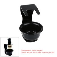 Wholesale Wholesale Soap Base - 2 In 1 Modern Design Acrylic Shaving Brush Soap Bowl and Shaving Set Holder Base Shaving Sit Frame Base W1711