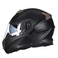 Wholesale Pink Full Face Helmets - Vcoros winter Flipup Motorcycle helmet Anti-fog lens full face Racing motorbike helmet Double Sun viso Modular locomotive helmet