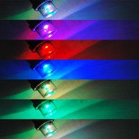 Wholesale 10PCS T10 LED W5W Car Super Inverted Side Wedge Light Bulbs Colors Available parking car styling