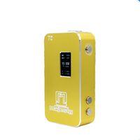 Wholesale Eletronic Cig - Vape Mod 150W TC eletronic e cig box mod huge vape Box mod , Black , gold on sale