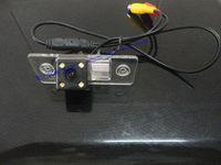 Wholesale Cayenne Reverse Camera - LED Car Rear View Reverse backup Camera for PORSCHE CAYENNE VW Volkswagen SKODA FABIA SANTANA POLO(3C) TIGUAN TOUAREG PASSAT camera car ...