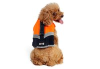 Compra Rifornimenti Di Nuoto-2017 Vendita caldo Pet Supplies Pet Life Jackets Cane Gilet da nuoto Big Dog Costume da bagno professionale