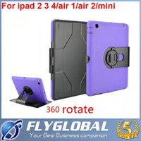 Wholesale Apple Price Stand - 2016 Shockproof Dustproof Anti-Dust Case Cover Stand for Apple iPad Air Air 2 iPad 2 3 4 5 6 ipad air mini factory price