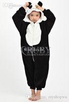 Wholesale Children S Christmas Pyjamas - Wholesale-Unisex Children's Costumes Kids Fashion Cosplay Onesies Animal Pajamas Christmas Gift Child Cute Panda Cartoon Animal Pyjamas