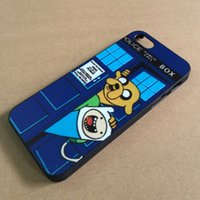 Wholesale Beemo Case - Wholesale-Free shipping 21 designs Adventure Time Beemo BMO Jake, Finn, Lumpy hard plastic case for iphone 5 5s