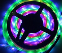 16.4ft 5 M 150 leds SMD5050 RGB Magic Dream Pixel Strip Light Digital LPD6803 Tubo Impermeabile FAI DA TE per KTV Bar Hotel Entainterment Decorazione