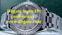 Montres de luxe pour hommes Dress Factory Jubilee Dial Watch Men's Diamond Bezel Platinum Day Time Dive Business Mens Montres-bracelets