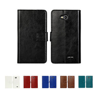 Wholesale Lg Optimus Wallet - S5Q Magnetic Folio PU Leather Wallet Cover Case Stander For LG Optimus L90 D415 AAAEHV