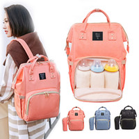 Wholesale Nursing Spring - Diaper Bags Mommy Backpack Nappies Backpack Fashion Mother Maternity Backpacks Outdoor Desinger Nursing Travel Bags