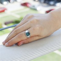 Wholesale Feeling Hot Sets - Wholesale- Mood Rings Change Color Emotion feeling Rings Trendy Magic EYE Adjustable Size Ring Temperature Control New Year Hot Gift 2016