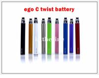 Wholesale Electronic Ego C Twist Battery - Hot selling Ego C twist 650mah 900mah 1100mah Battery for Electronic Cigarette adjustable voltage 3.2-4.8V Various colors