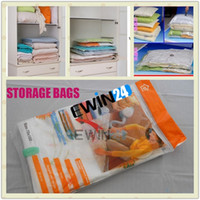 Clothing space bags pack - 10PCS VACUUM COMPRESSION STORAGE BAGS Assorted Sizes Pack for Space Saving Packaging for Your Clothes Hot Sale