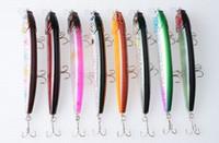 atraer mar duro al por mayor-HOT 20PCS 12.5CM / 15.6g 4.92in / 0.55oz Minnow señuelo de la pesca cebos duros 8color Deepwater Artificial Fishing Lure Sea Bionic ¡Alta calidad!