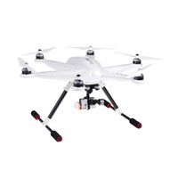 Wholesale Rc Helicopter Devo - Wholesale-Walkera TALI H500 FPV RTF RC Helicopter drone with Camera + G-3D Gimbal iLook IMAX B6 Charger DEVO F12E Transmitter quadrocopter