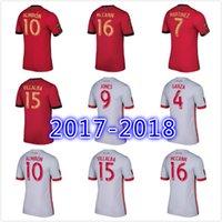 Wholesale Atlanta Wholesalers - Thai quality 2017 Atlanta United red home soccer jersey 17 18 GARZA JONES VILLALBA MCCANN MARTINEZ ALMIRON away white football shirts