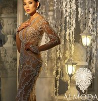 Wholesale Kim Kardashian Peplum Dresses - Evening dress 2017 Yousef aljasmi Kim kardashian Sweetheart Mermaid Appliques Almodal gianninaazar Kylie Jenner Zuhair murad