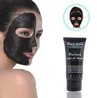 masque de peau d'algues achat en gros de-Points Noirs Chauds Enlever Les Masques Pour Le Visage Nettoyage En Profondant Peeling Off Nud Black Facail Face Black Mask
