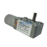 Wholesale Motor Rates - DC motor metal gear 12V 2rpm electric geared worm motor free shipping rated torque 15kg.cm