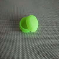 Wholesale Smily Face - Unique Smily Face Silicone Wax Container 5ml Silicone Jar Wax oil Containers For Concentrate Non Stick Bho Wax Tub Colorful 10pcs lot