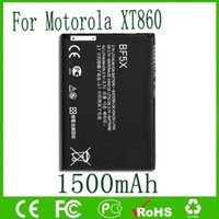 Wholesale Defy Battery Bf5x - 1500mAh BF5X Mobile Battery Replacement for Motorola Defy MB525 ME863 XT320 XT531 XT532 XT883 XT862 Battery Free Shipping
