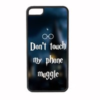 Estuche mágico Harry Potter para iPhone 4s 5s 5c 6 6s Plus iPod touch 4 5 6 Samsung Galaxy s2 s3 s4 s5 mini s6 edge plus Nota 2 3 4 5