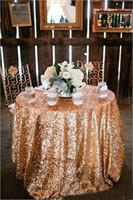 ingrosso nuovi materiali per la decorazione-Nuovi materiali Sparkly paillettes Wedding Confetti 2017 Wedding Prom Decorazione del partito Accessorio da sposa Tovaglia da sposa paillettes rosse arabe