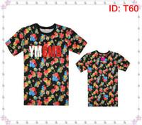 Wholesale Mens Galaxy T Shirt - Mens T-Shirt YMCMB Tshirts Men Diamond Supply Co Mens t shirts Last King Leopard camo short sleeve Neck hip hop Galaxy Floral T-Shirt