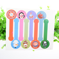 Wholesale Christmas Envelope Stickers - 100pcs Seal Stickers Handmade MERRY CHRISTMAS Snowman DIY Seal Sticker Scrapbooking Envelopes packaging Label Cake Box Wrapping Baking