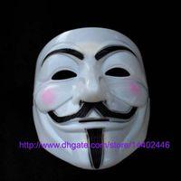 Wholesale Horror Guy - 100pcs guy fawkes V vendetta team pink blood scar masquerade masks Halloween carnival Vendetta mask V masks for the wholesale , free ship