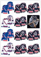 Wholesale Fast Drying - New season York Rangers Mats Zuccarello Zibanejad Rick Nash Henrik Lundqvist Ryan McDonagh Fast Chris Kreider 2018 Winter Classic Jersey