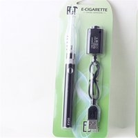 Wholesale Blister Plastic Pricing - e cigarette evod H2 Blister kit color evod battery color h2 atomzier vape pen starter kit e cig from best quality cheap price