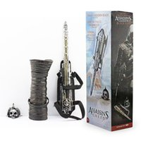 NECA Assassins Creed 4 Cuatro banderas negras Pirate Hidden Blade Edward Kenway Cosplay New in Box