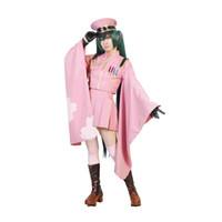 Wholesale Miku Kimono - Milica Books Japanese Anime VOCALOID Senbon Zakura Hatsune Miku Kimono Uniform Cosplay Costume - Deluxe Original Version