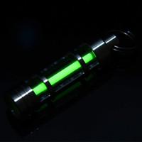 Wholesale Green Grow Light - Wholesale-Titanium Tritium Fluorescence Growing Grow Light Keychain Illumination Autoluminescence 25 Years Green
