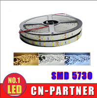 Wholesale Discounts Led Light Strip - Opening discount SMD 5730 Led Strip 5m Roll 60LEDs m Wateproof Non-waterproof DC 12v Flexible Led Strips light Warm Cold White  Red lights