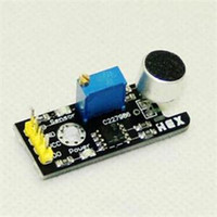 Wholesale Sound Board Microphone - Practical 1pc New Sound Sensor Board Microphone MIC Controller Sensors