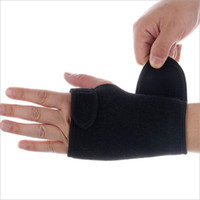 Wholesale Pvc Wrist Bands - Splint Sprains Arthritis Band Belt Carpal Tunnel Hands Wrist Support Brace Strap