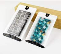 Wholesale Iphone Personalized Case - Custom Design Bags for Phone Case for iPhone 8 Plus Luxury Personalized Packaging Bag for iPhone X
