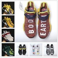 2017 Vente Chaude NMD EOOOCX Pharrell Williams PW Boost Requin / XR1 Canard Camo / Birthda Race Humaine Mode Casual Sport Chaussures de Course Taille 40-45