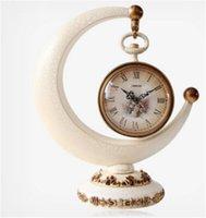 Wholesale Originality Clock - European Crescent Shape Modern Simple Originality Bracket Clock