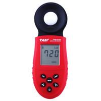 Wholesale Data Log - TASI-8720 Handheld illuminometer Luxmeter Digital Light Meter 1~200,000 LUX LCD Backlight Display Data Logging 50 data