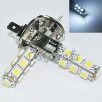 Wholesale H1 13 Led - 2X Car H1 5050 SMD 13 LED White Head Fog Headlight Light Lamp Bulb DC 12V New