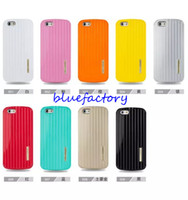 Wholesale iphone 4s cases slim - KIKI Luggage Carrier Shock Proof Hybrid Slim Armor Case For Iphone 4s 5s iphone 6 4.7'' 5.5 inch