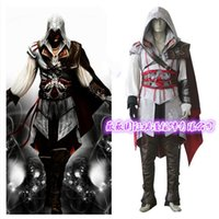 Wholesale Ezio Costume Assassin - Assassins creed costume for kids assassins creed cosplay ezio assassin creed enfant halloween unity dress Free Delivery