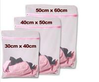 mesh-taschen zum waschen von kleidung großhandel-S / M / L Kleidung Waschmaschine Wäschebüstenhalter Hilfe Dessous Mesh Net Waschbeutel Beutel Korb
