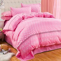 Wholesale Family Sheet - Wholesale-bedding-set 4pcs family no cotton comforter bedding sets bed sheets duvet cover bedclothes linens colcha de cama bedspread