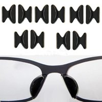 Wholesale Eyeglasses Nose Pads - Useful 5Pairs Soft Non-slip Silicone Nose Pad For Glasses Eyeglasses Sunglass