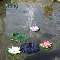 Wholesale outdoor garden fountains - Solar Water Fountain Solar Garden Fountain Artificial Outdoor Fountain For Home Family Garden Park Decoration